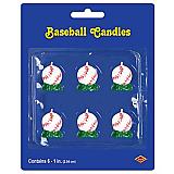 "Baseball Candles 1¼"""