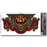Jack O' Lantern Wall Decoration Peel 'N Place