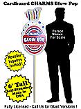 Charms Blow Pop Cardboard Cutout Standup Prop - Self Standing