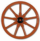 Plastic Wagon Wheel 23""