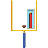 Jointed Goal Post 5'