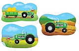 Tractor Cutouts 18""