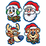Christmas Companion Cutouts 14""