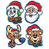 """Christmas Companion Cutouts 14"""""""