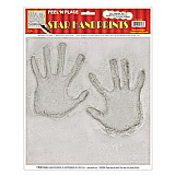 Star Handprints Peel 'N Place