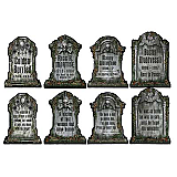Tombstone Cutouts 16""