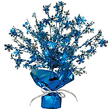 Snowflake Gleam 'N Burst Centerpiece 15""