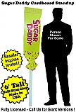 Sugar Daddy Cardboard Cutout Standup Prop - Self Standing