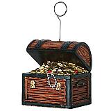 Treasure Chest Photo/Balloon Holder 6 Ozs