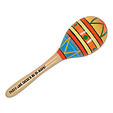 Party Like There's No To-Maya! Maraca 8""