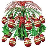 """Christmas Ornament Cascade Centerpiece 18"""""""