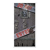 "Haunted Halloween Door Cover 30"" x 5'"