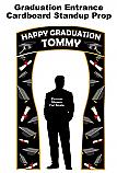Graduation Entrance Cardboard Standup Prop
