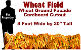 Wheat Field Cardboard Cutout Standup Prop