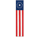 Jointed Patriotic Pull-Down Cutout 6'