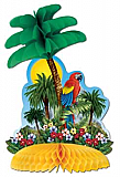 "Tropical Island Centerpiece 12"""