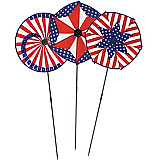 "Patriotic Wind-Wheels 15"" x 3'"