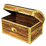 "Treasure Chest Box 11¾"" x 8"""