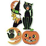 "Halloween Cutouts 14""-24"""