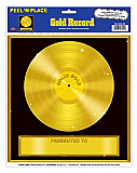 "Gold Record Peel 'N Place 12"" x 15"""