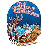 Christmas Sign Cutout