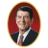 Reagan Cutout 25""