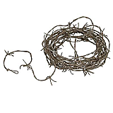 Rusty Barbed Wire Garland 12'