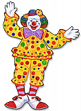 Jointed Circus Clown 30""