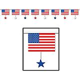 Flags & Stars Banner