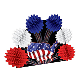 Patriotic Pop-Over Centerpiece 10""