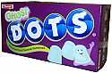 Dots Halloween Ghost Box 3D Cardboard Standup Prop