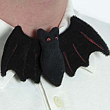 Plush Bat Bow Tie