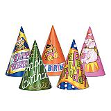 "Happy Birthday Hats 7"""