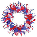 Feather Wreath 12""