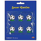 Soccer Ball Candles
