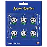 Soccer Ball Candles