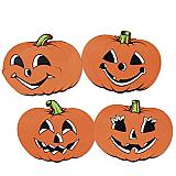 "Pumpkin Cutouts 12"""