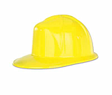 Plastic Construction Helmet Prop