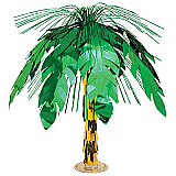 Palm Tree Cascade Centerpiece 18""