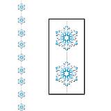 """Snowflake Stringer 6' 6"""""""
