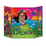 "Hula Girl Photo Prop 3' 1"" x 25"""