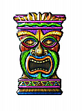 Tiki 3-D Art-Form 18""