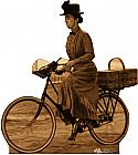 Miss Gulch on Bike - The Wizard of Oz Cardboard Cutout Standup Prop