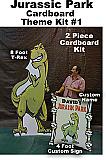 Jurassic Park Cardboard Kit #1