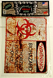 Grimm Halloween Sign-Warning Biohazard