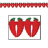 "Chili Pepper Garland 5½"" x 12'"