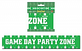 "Game Day Party Zone Party Tape 3"" x 20'"