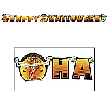 "Happy Halloween Streamer 5½"" x 6'"