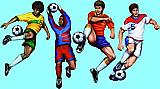 "Soccer Cutouts 20"""
