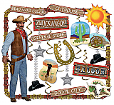 Western Decorating Kit - 27 Pcs